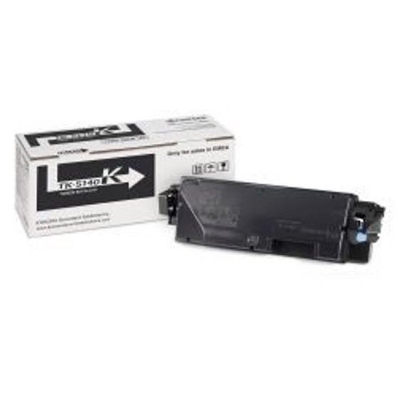 Limitless Kyocera TK-5140K Laser Toner Cartridge Page Life 7000pp Black Ref 1T02NR0NL0 *3to5 Day Leadtime*