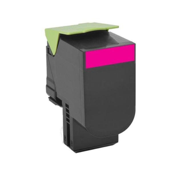 Lexmark 80C20C0 Toner Cartridge Page Life 1000pp Return Program Magenta Ref 80C20M0