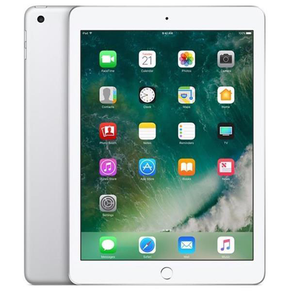 Apple iPad iOS 10 HD WiFi 4G 128GB Touch ID 10-hour Battery Silver MP2J2B/A