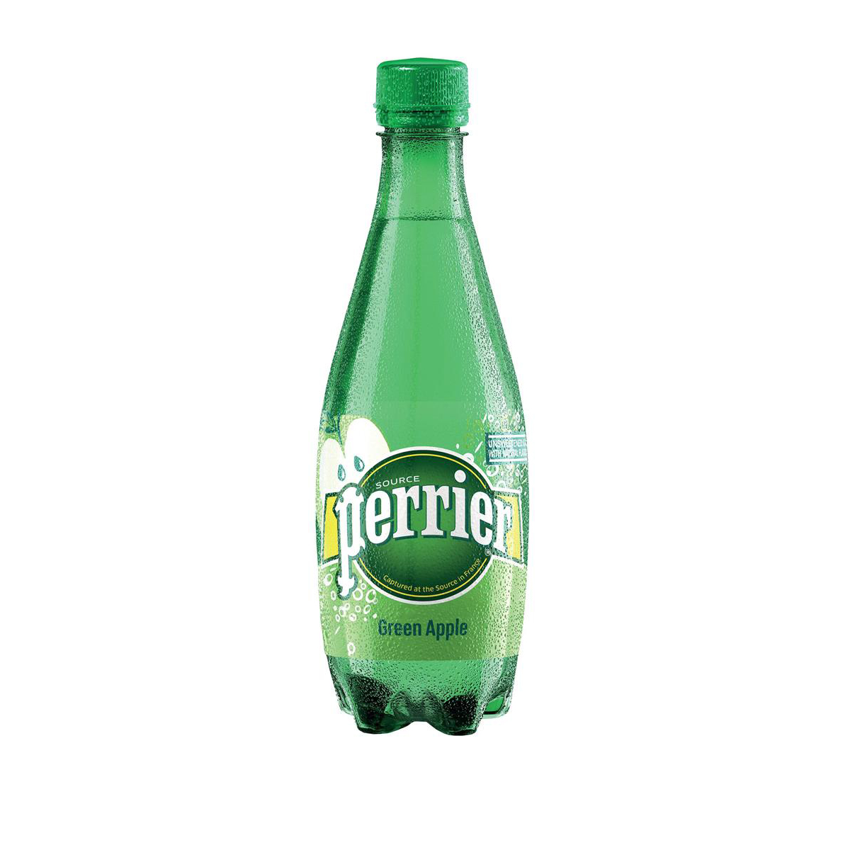 Perrier Sparkling Mineral Water Green Apple Bottle Plastic 500ml Ref 12323097 [Pack 24]