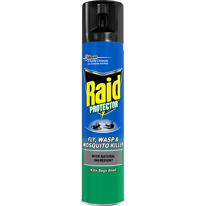 Image for Raid Fly Wasp & Mosquito Killer Aerosol 300ml Ref 95824
