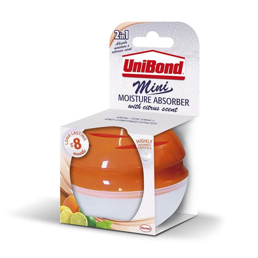 Image for UniBond Mini Moisture Absorber Citrus Scent Ref 2262195