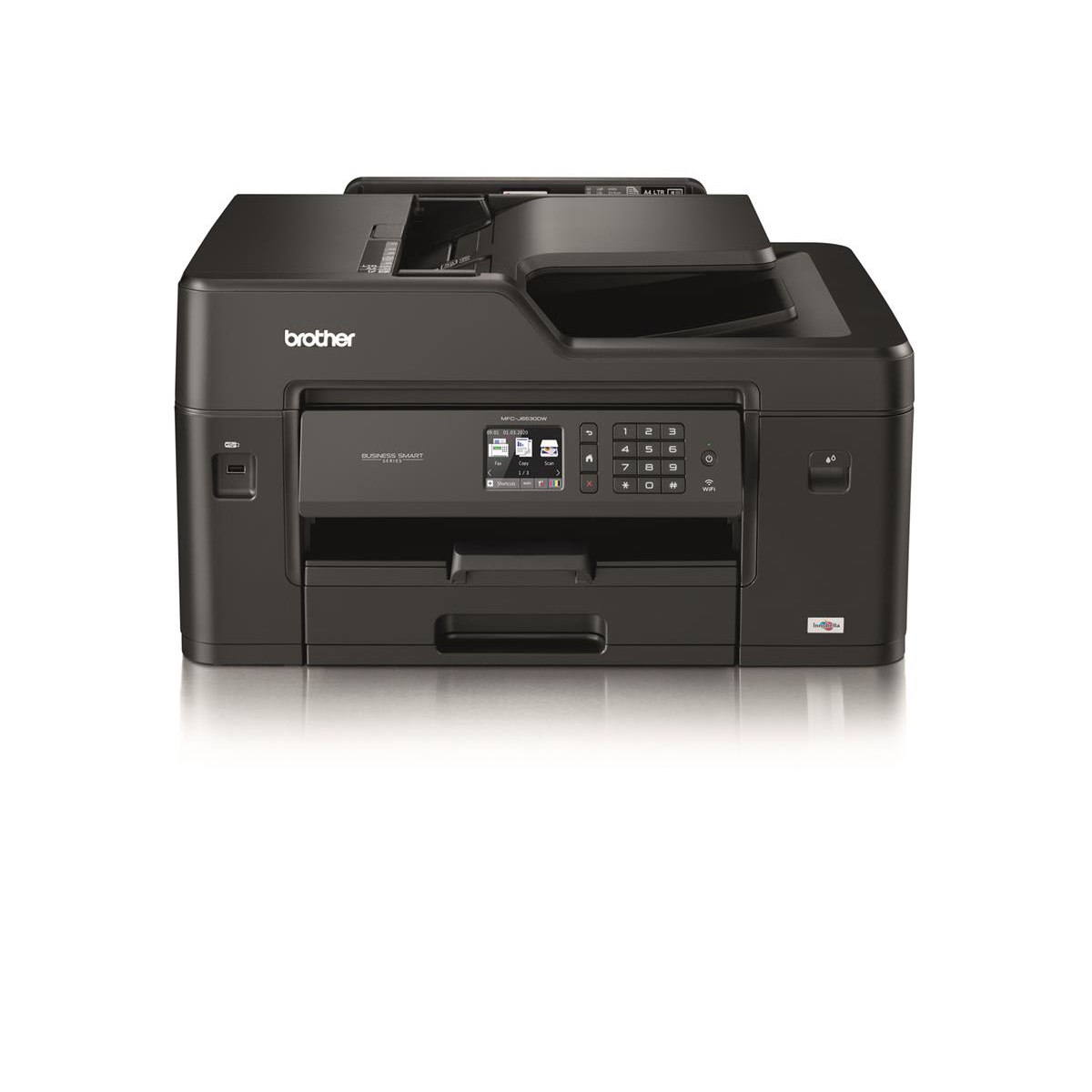 Multi function printers Brother Colour Inkjet Multifunction A3 Printer Ref MFCJ6530DWZU1