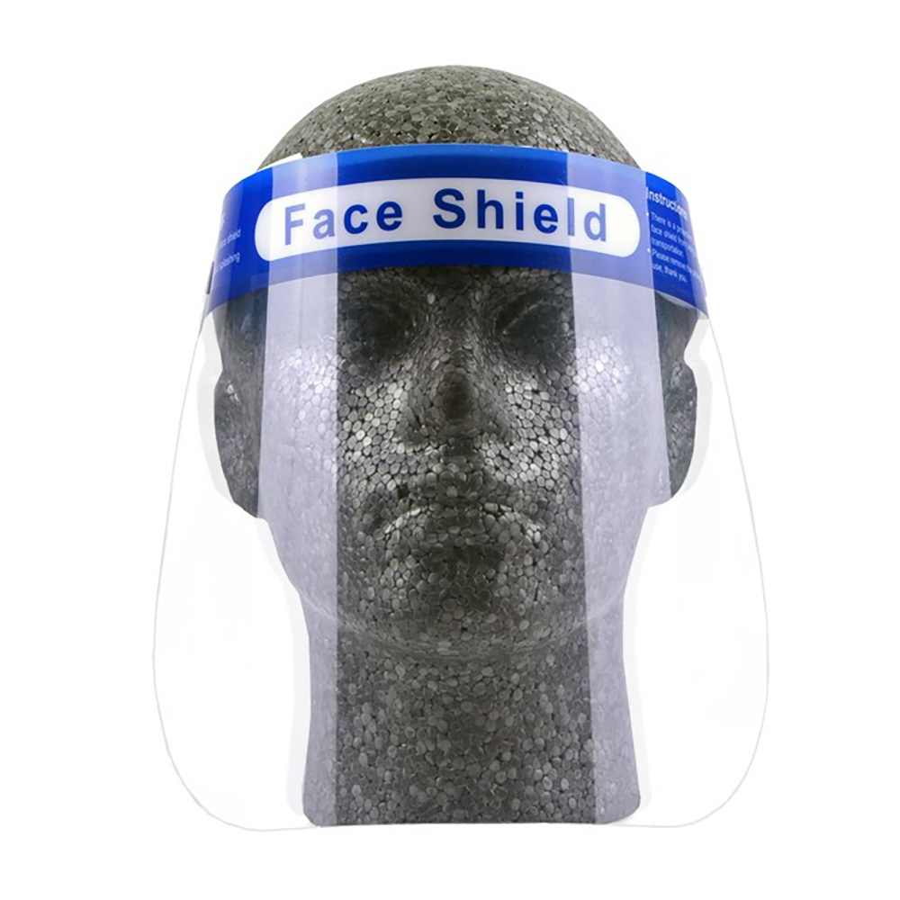Masks or accessories 5 Star Facilities Protective Face Shield Pack 10