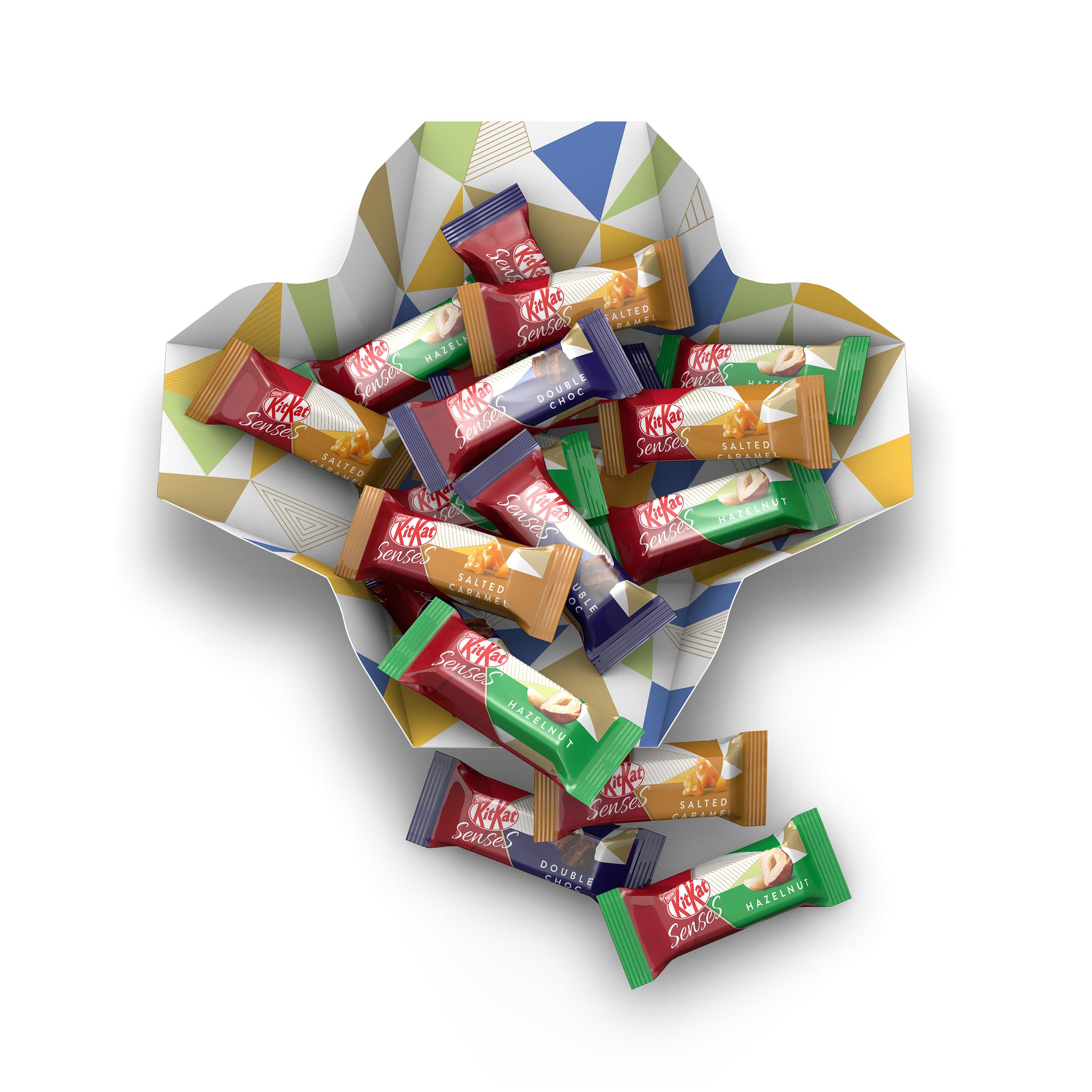 Nestle Kit Kat Senses Assorted Box 20 Bite Size Pieces 200g Ref 12351140