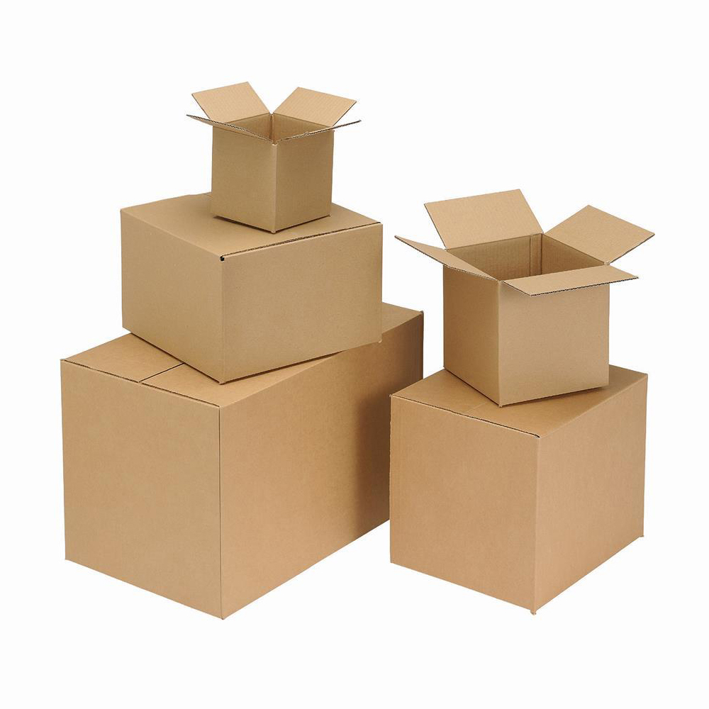 Packaging boxes Corrugated Box Single Wall 457x305x305mm Brown Ref 12707 [Pack 25]