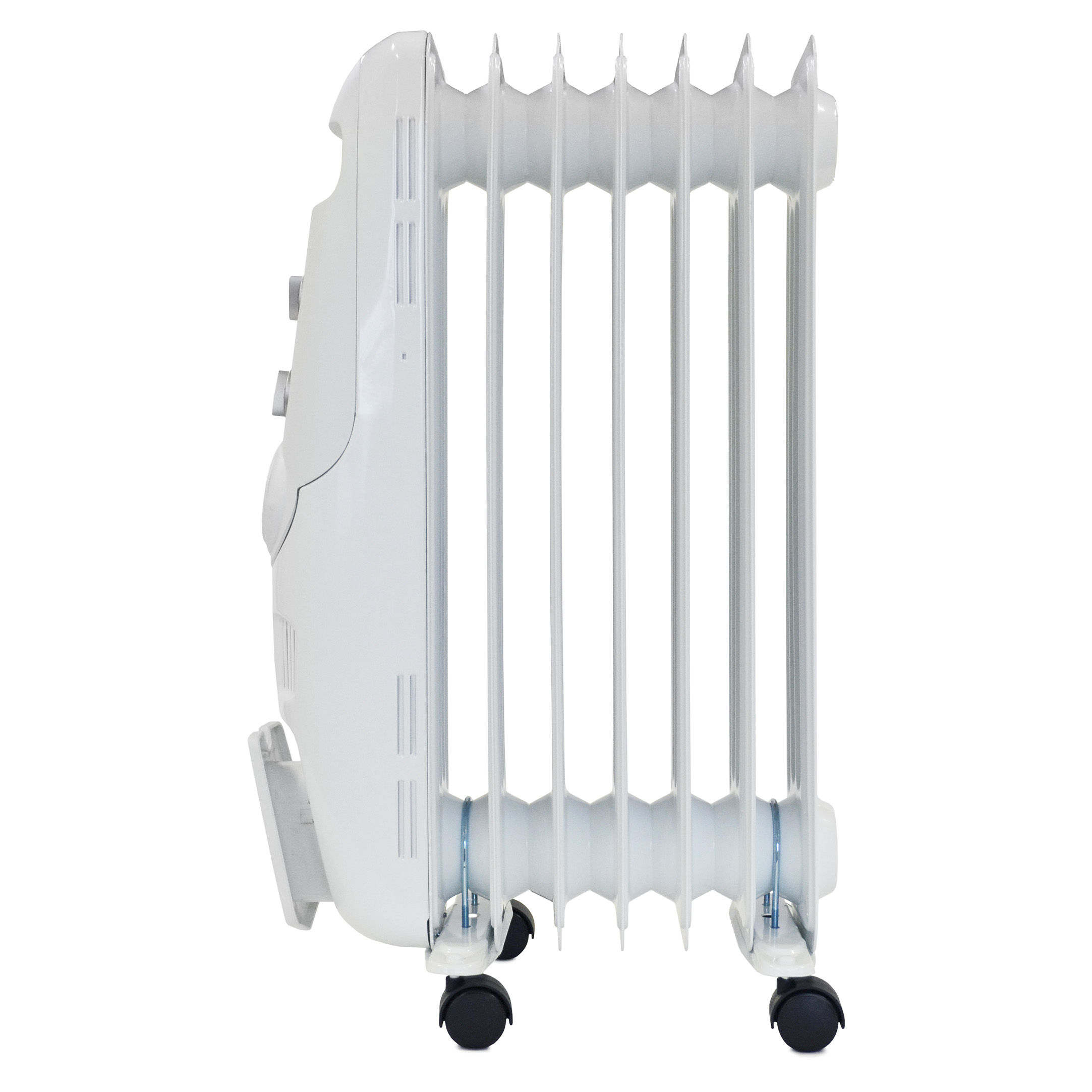 Fan Heaters Igenix 1.5kW Oil Filled Radiator White Ref IG1650