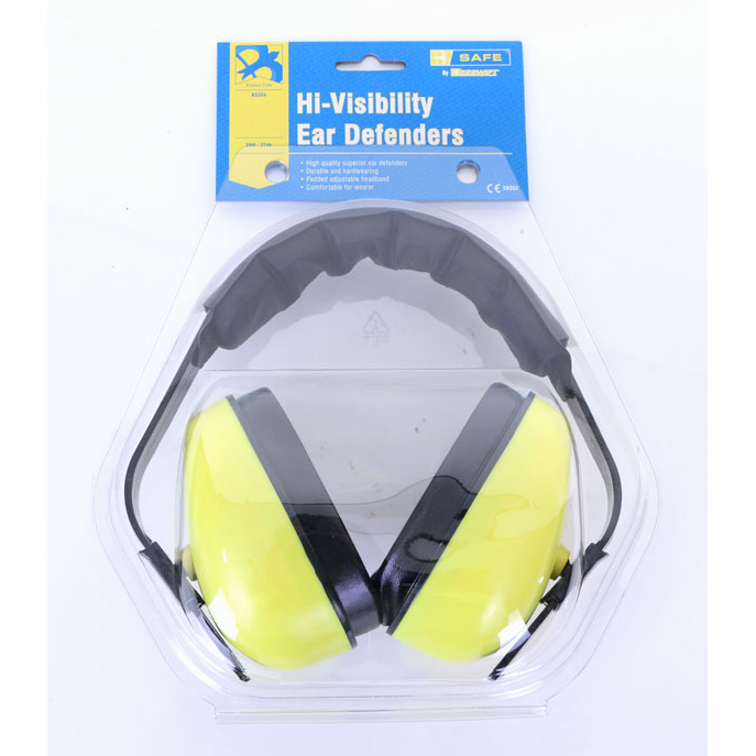 Limitless B-Safe Ear Defender Muffs Saturn Yellow Ref BS004 *Up to 3 Day Leadtime*