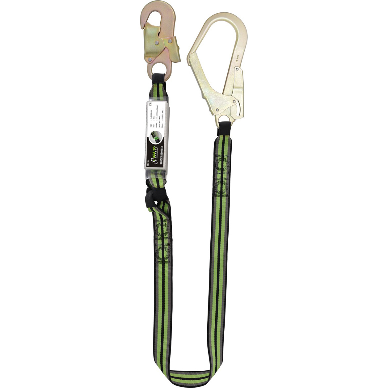 Kratos 1.5Mtr Lanyard plus Scaff Hook*Up to 3 Day Leadtime*