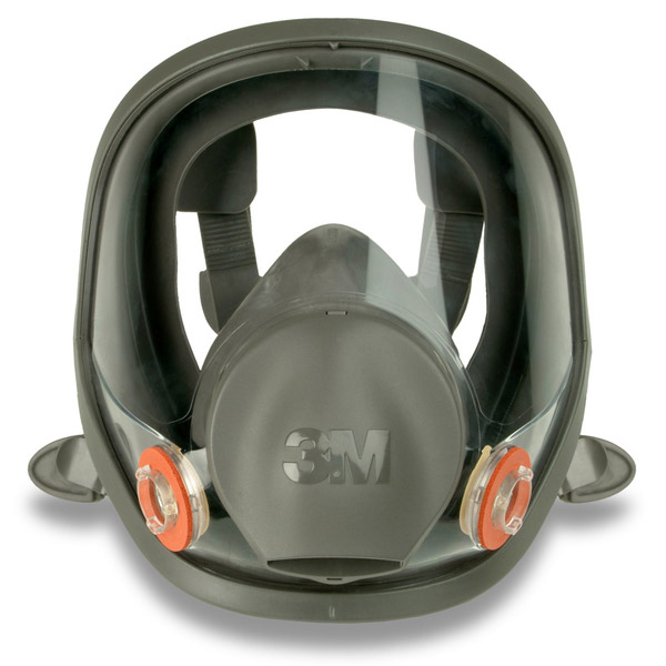3M 6000 Series Full Face Mask Small Grey Ref 3M6700S *Up to 3 Day Leadtime*