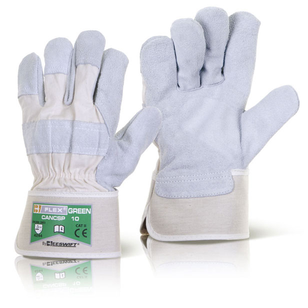 B-Flex Canadian High Quality Rigger Glove Ref CANCSP [Pack 100] Up to 3 Day Leadtime
