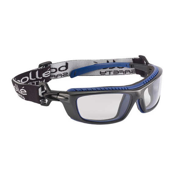 Bolle Baxter Platinum Safety Glasses Clear Ref BOBAXPSI Up to 3 Day Leadtime