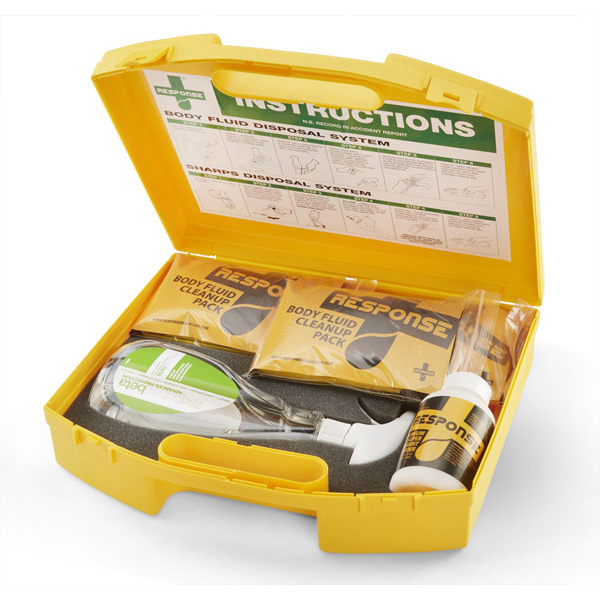 Equipment Click Medical Body Fluid Bulk Spill Kit Ref CM0635 *Up to 3 Day Leadtime*