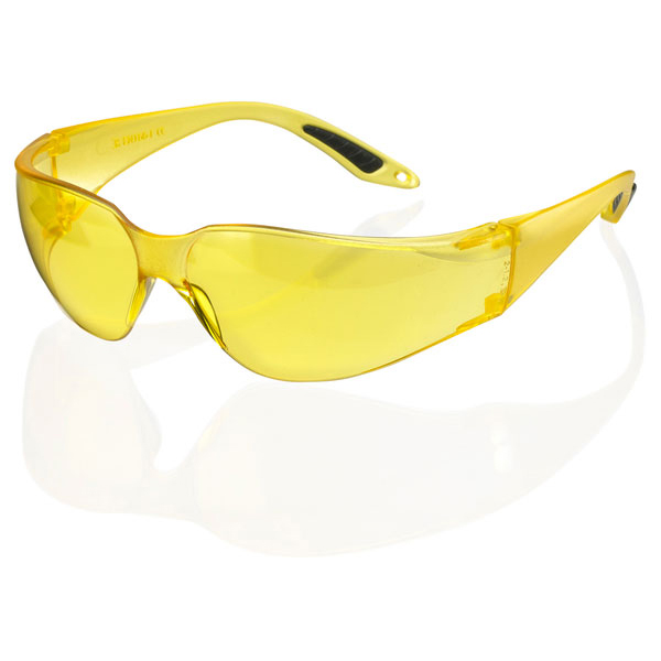B-Brand Vegas Safety Spectacles Yellow Ref BBVSS2Y [Pack 10] Up to 3 Day Leadtime