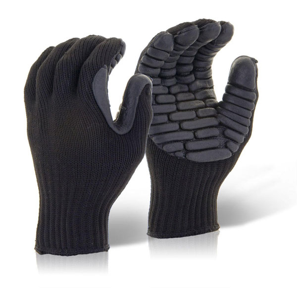 Glovezilla Anti-Vibration Glove Black L Ref GZAVGL *Up to 3 Day Leadtime*
