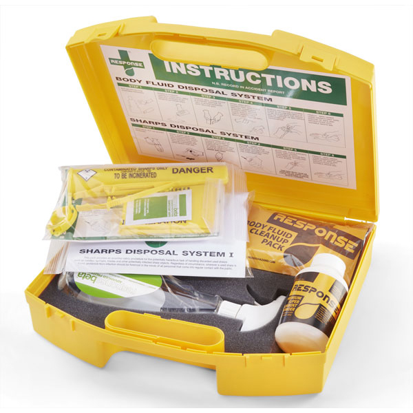 Click Medical Biohazard Combination Kit Ref CM0640 *Up to 3 Day Leadtime*