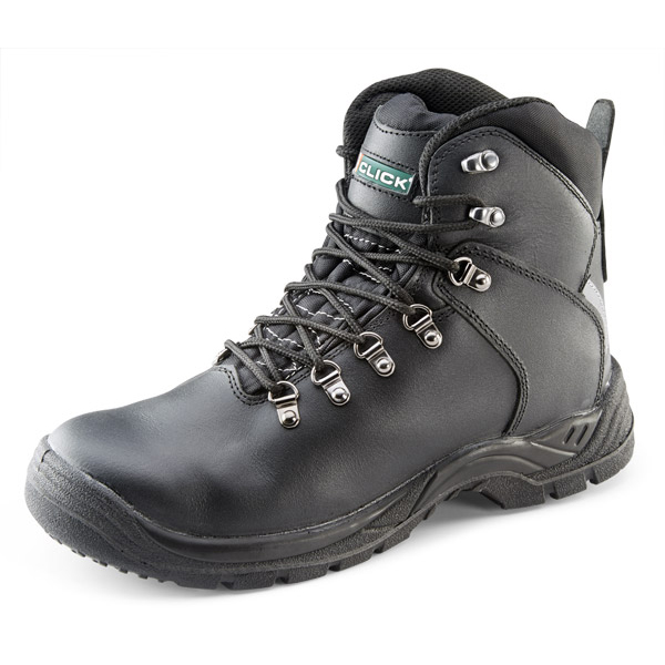 Click Footwear Internal Metatarsal Impact Protect Boot S3 8 Blk Ref CF9MBL08 *Up to 3 Day Leadtime*