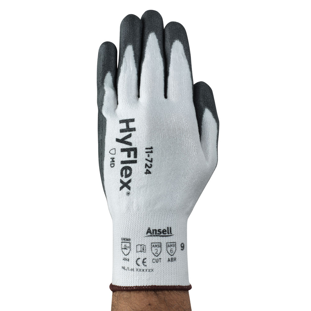 Ansell Hyflex 11-724 Glove Size 9 Large Ref AN11-724L *Up to 3 Day Leadtime*