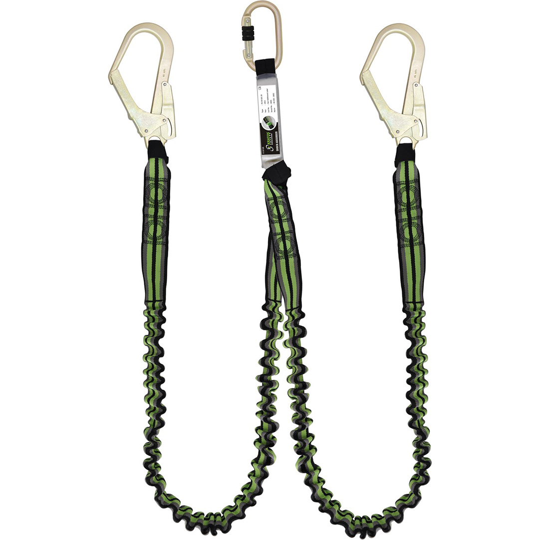 Kratos 1.5M Lanyard Y-Shock Absorb Ref HSFA3080015 Up to 3 Day Leadtime