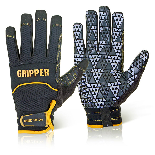 Mecdex Rough Gripper Mechanics Glove 2XL Ref MECPR-741XXL *Up to 3 Day Leadtime*