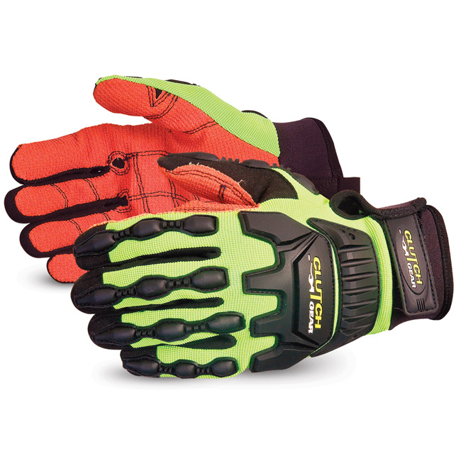 Superior Glove Clutch Gear Impact Protection Armortex L Yellow Ref SUMXVSBAL Up to 3 Day Leadtime