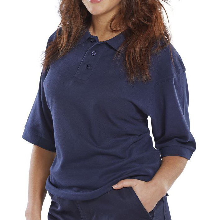 Click Premium Polo Shirt 260gsm 2XL Navy Blue Ref CPPKSNXXL Up to 3 Day Leadtime