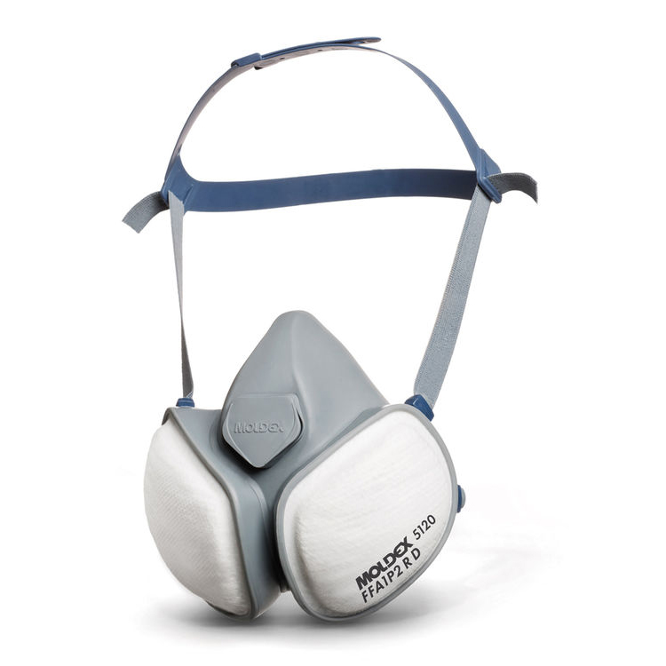 Moldex FFA1P2RD Half Mask with Pleated Filter Technology White Ref M5120 *Up to 3 Day Leadtime*