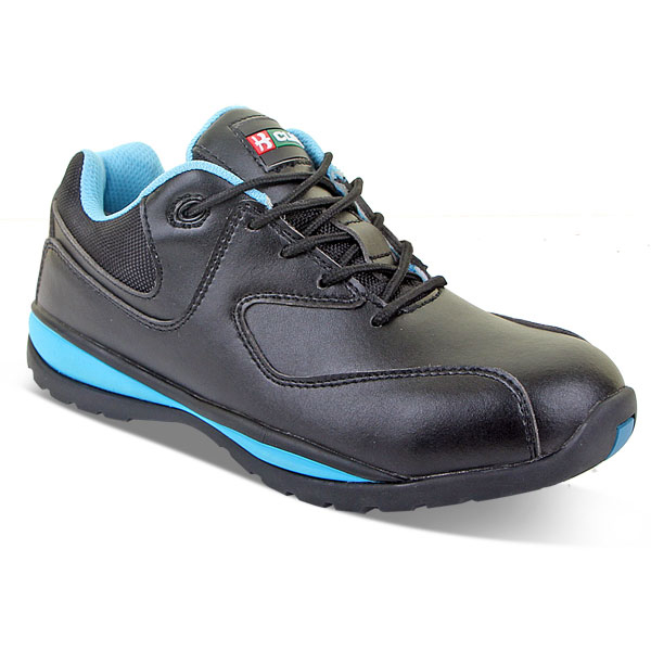 Click Footwear Ladies Trainers Micro Fibre Size 6 Black Ref CF86206 *Up to 3 Day Leadtime*