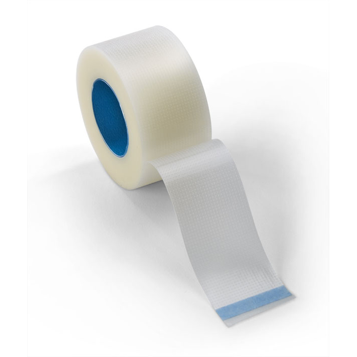 Click Medical Plastic Perforated Tape 2.5cmx10m White Ref CM0430 [Pack 12] *Up to 3 Day Leadtime*