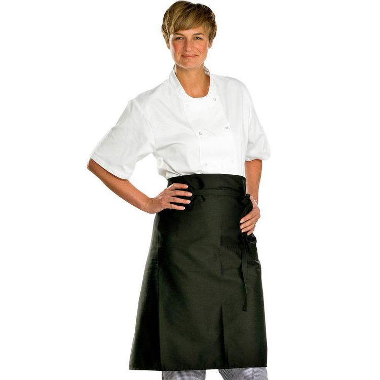 Click Workwear Chefs Waist Apron Bl 36X29 [Pack 10] Ref CCCWABL36X29 *Up to 3 Day Leadtime*