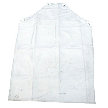 Click Workwear Clear PVC Apron 42inchX36inch Ref CPA42-10 [Pack 10] *Up to 3 Day Leadtime*