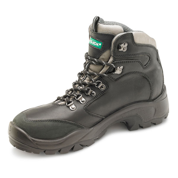 Click Footwear PU Rubber S3 Boot Steel Toe Cap Size 6 Black Ref CF62BL06 *Up to 3 Day Leadtime*