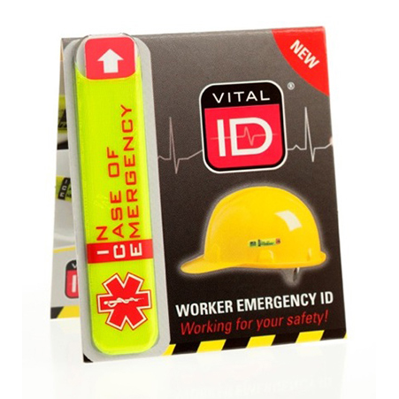 Limitless Vitalid Emergency ID Standard (Ice) Ref WSID01 *Up to 3 Day Leadtime*