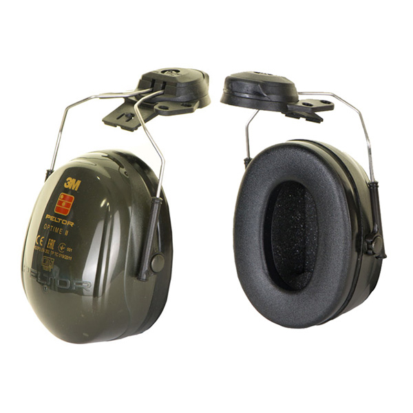 Peltor Optime 2 Helmet Mounted Ear Defenders 31dB Black Ref H520P3E-410-GQ *Up to 3 Day Leadtime*