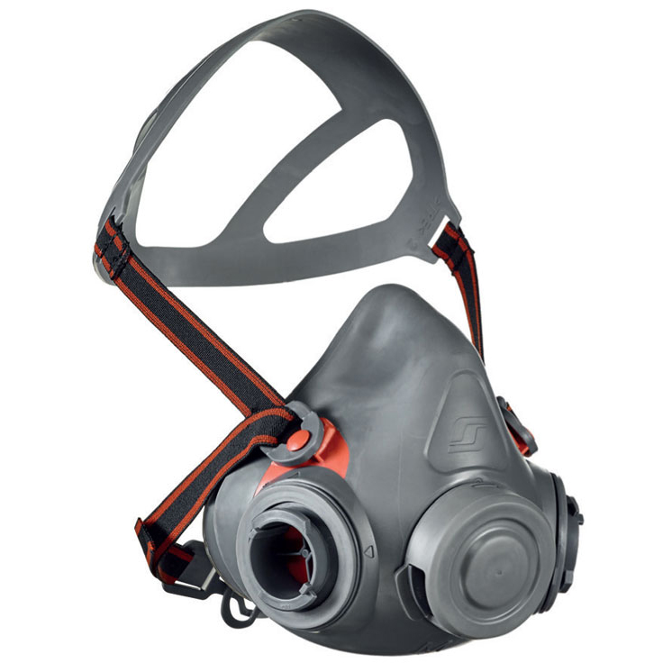 Scott Aviva 2 Half Mask with Reflex Seal Small Grey Ref 8004982 Up to 3 Day Leadtime