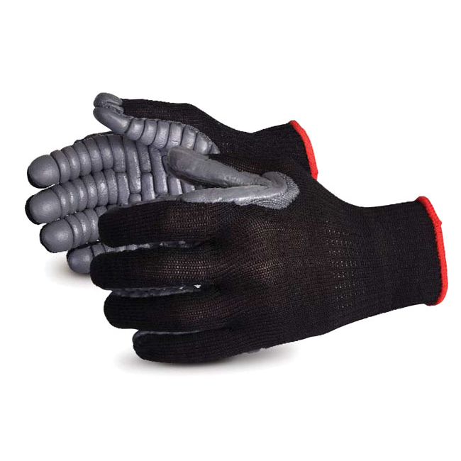 Superior Glove Vibrastop Vibration-Dampening Glove L Grey Ref SUS10VIBL *Up to 3 Day Leadtime*