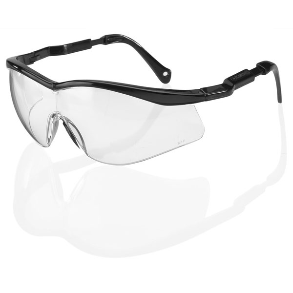 B-Brand Colorado Safety Spectacles Clear Ref BBCS [Pack 10] Up to 3 Day Leadtime
