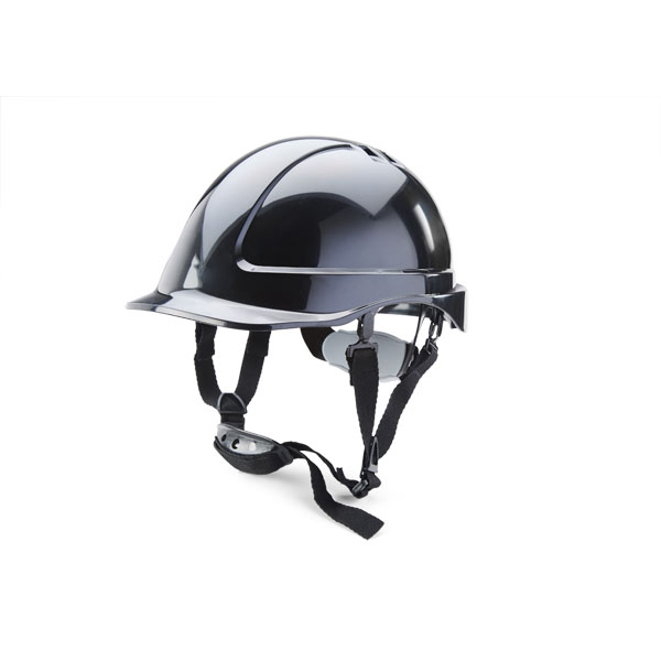 B-Brand Reduced Peak Helmet Black Ref BBSHRPBL Up to 3 Day Leadtime