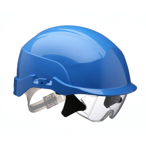 Centurion Spectrum Safety Helmet Blue with Eye Protection Blue Ref CNS20BA Up to 3 Day Leadtime