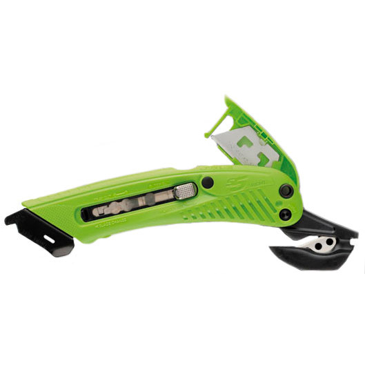 Knife blades Pacific Handy Cutter S5 Safety Cutter for Right Handed Users Green Ref S-5R *Up to 3 Day Leadtime*