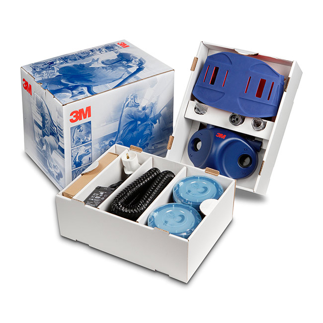 Mask or respirators filters or accessories 3M Ready To Use Starter Kit Air Respirator Blue Ref 3MRTUJUPITER *Up to 3 Day Leadtime*