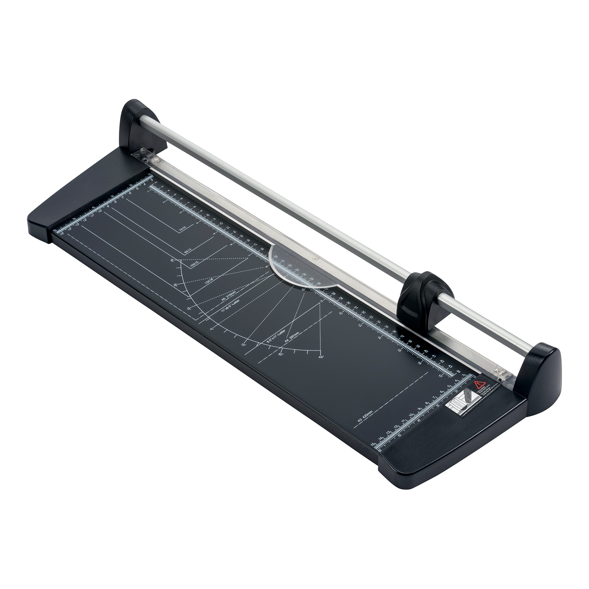 5 Star Office Personal Trimmer 10 Sheet Capacity A3 Cutting Length 460mm Cutting Table Size 460x157mm
