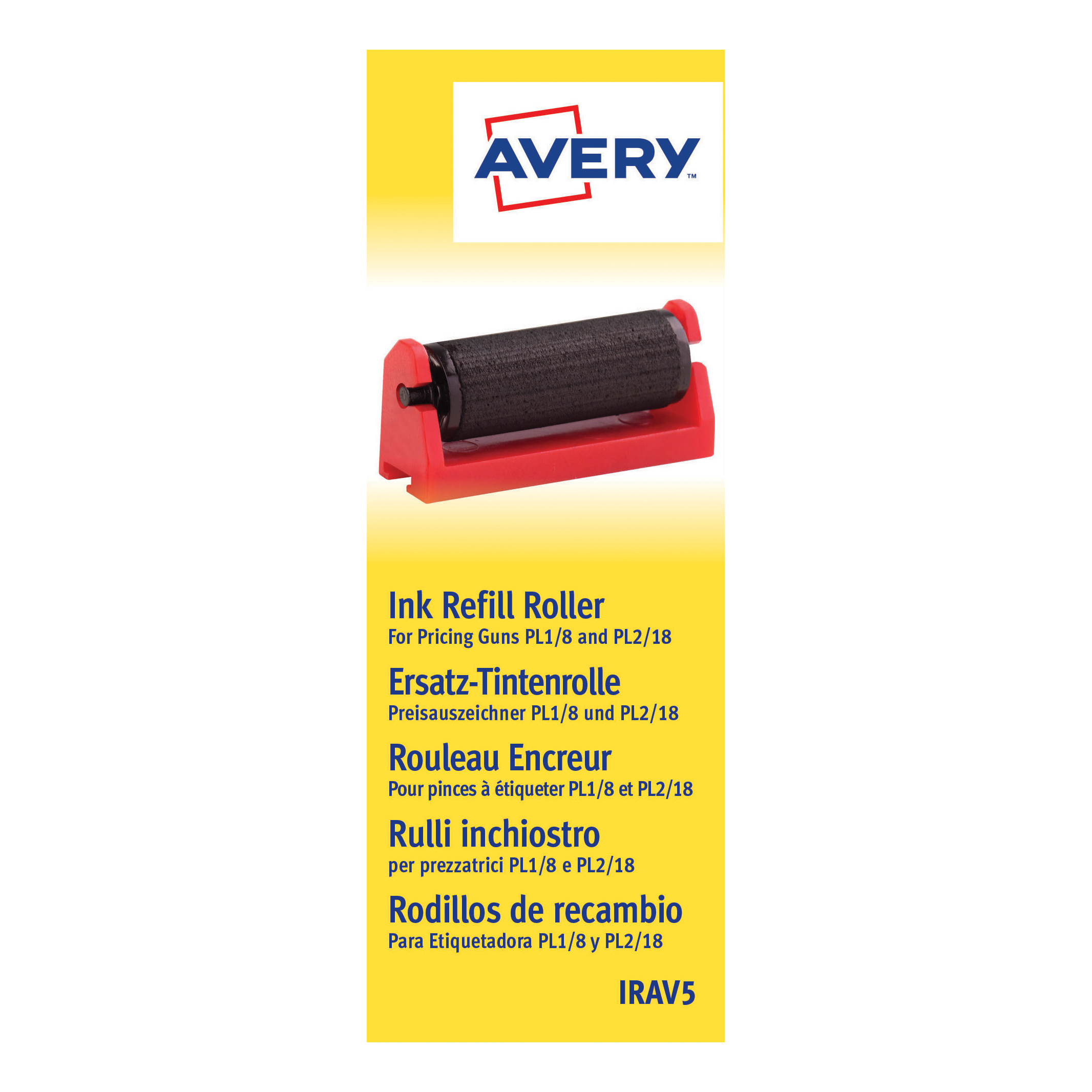 Tags Avery Pricing Gun Ink Refill Ref IRAV5 Pack 5