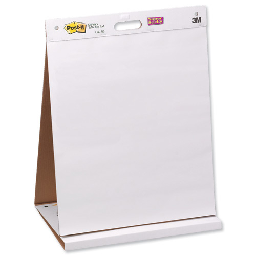 Flip chart Post-it Table Top Easel Pad Self-adhesive 20 Sheets 584x508mm Ref 563