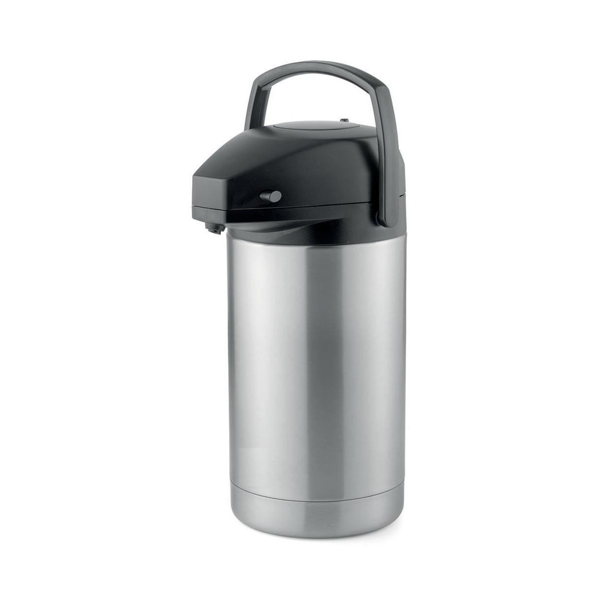 Addis Pump Pot Vacuum Jug Stainless Steel Retains Heat 8 hours 3 Litres