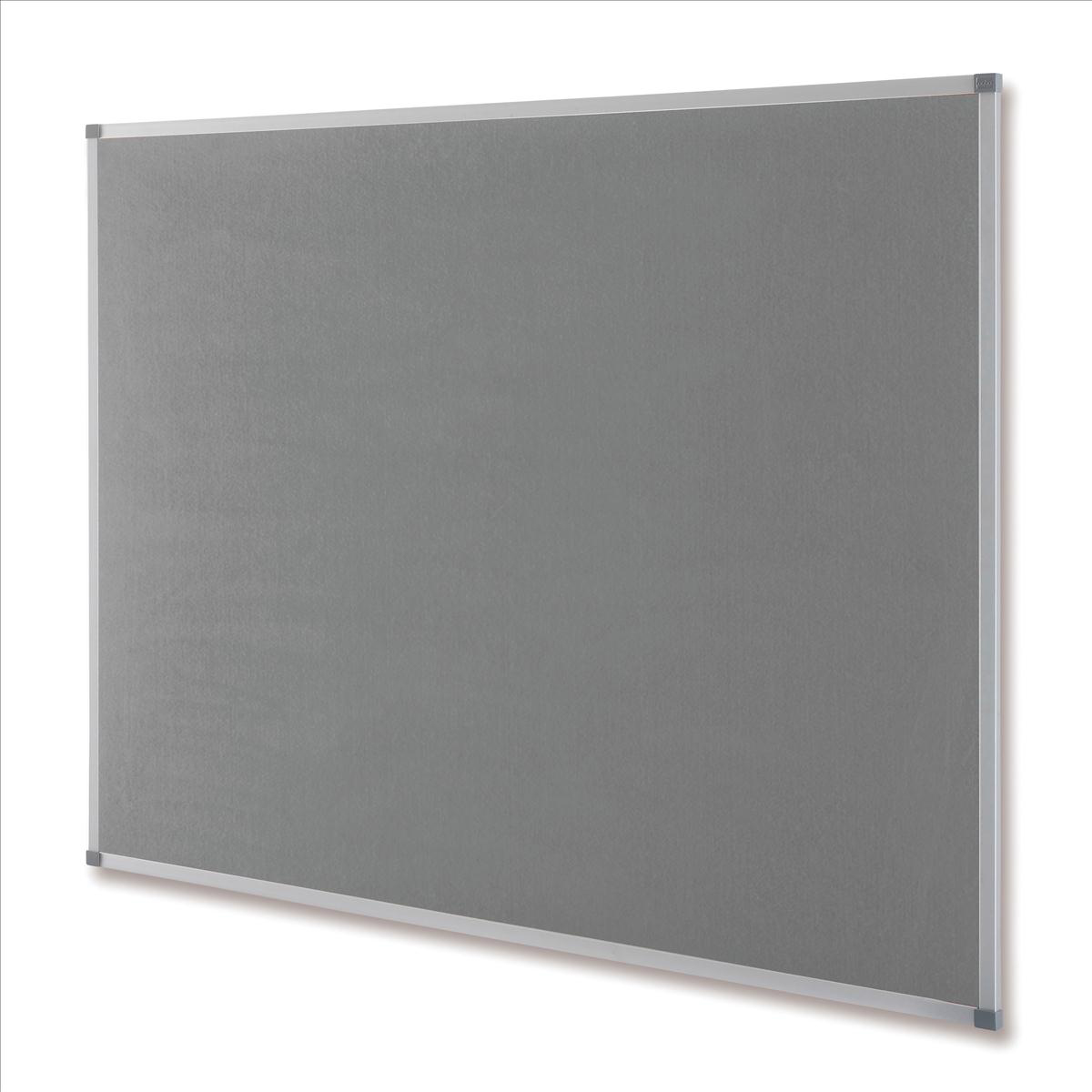 Nobo Classic Noticeboard Felt with Aluminium Frame W900xH600mm Grey Ref 1900911