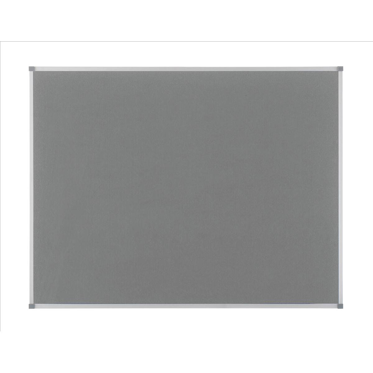 Nobo Classic Noticeboard Felt with Aluminium Frame W900xH600mm Grey Ref 1900911