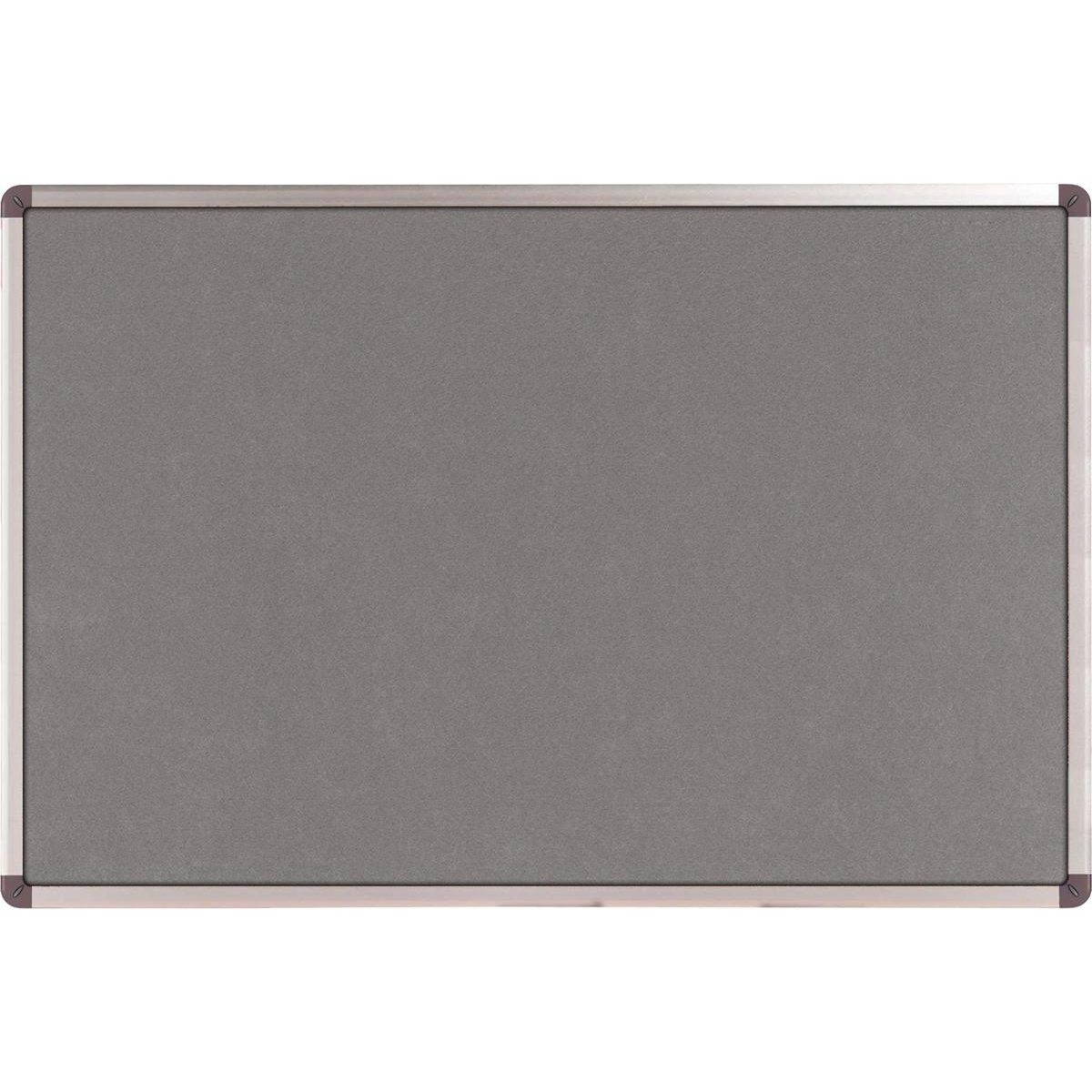 Nobo Classic Noticeboard Felt with Aluminium Frame W1200xH900mm Grey Ref 1900912