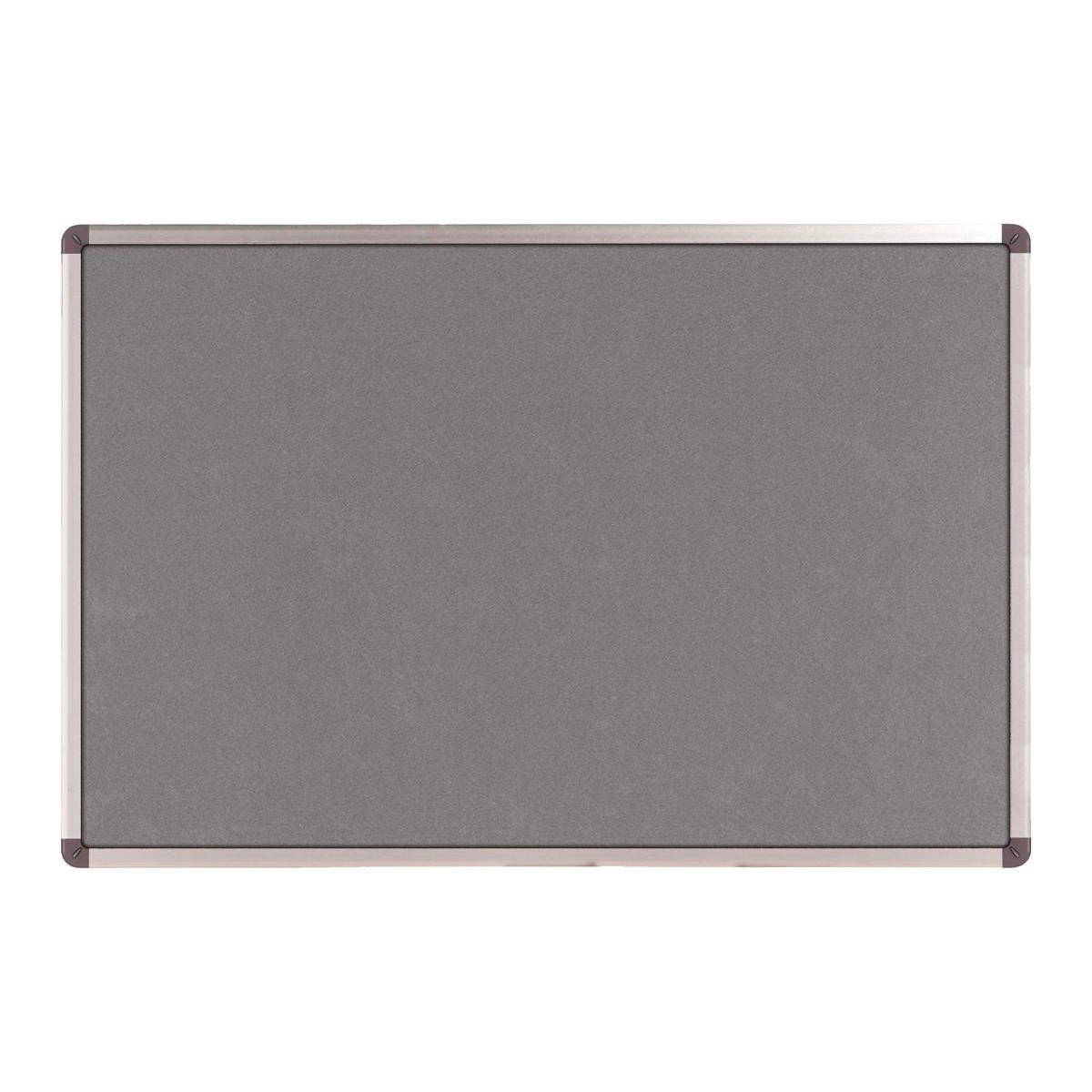 Nobo Classic Noticeboard Felt with Aluminium Frame W1200xH900mm Grey Ref 1900912