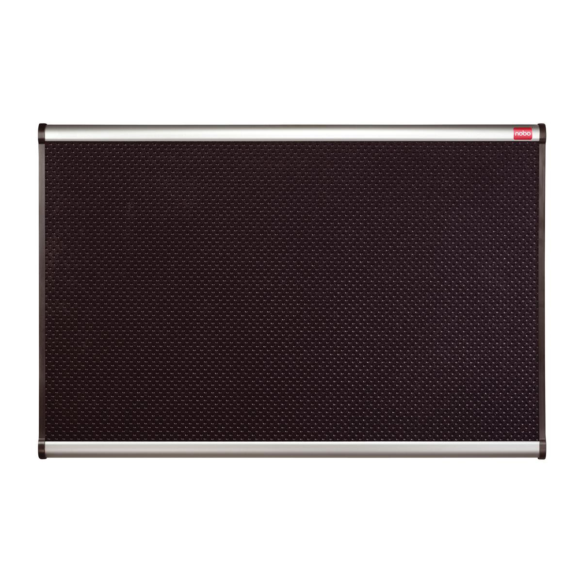 Foamboard Nobo Classic Noticeboard High-density Foam with Aluminium Finish W1200xH900mm Black Ref QBPF1290